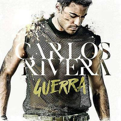 SEALED - Carlos Rivera NEW Guerra INCLUDES 1 CD & 1 DVD SHIPPING NOW !!!