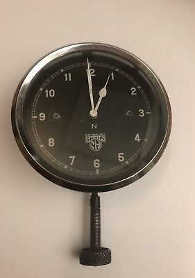 Vintage 1930s Car Clock by Smiths