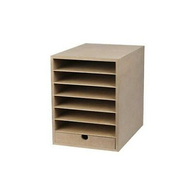 Paper Storage Unit, A4 210x297 mm, depth 32 cm, MDF, 1pc [HOB-21008]