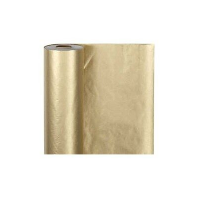 Wrapping Paper, W: 50 cm,  60 g, gold, 100m [HOB-20282]