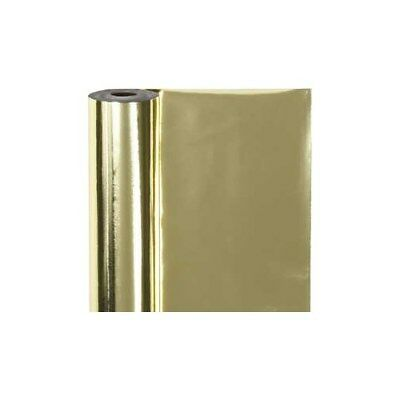 Wrapping Paper, W: 50 cm,  65 g, gold, 100m [HOB-19989]