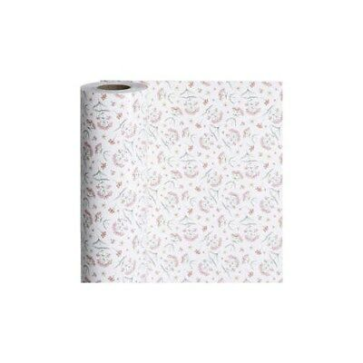 Wrapping Paper, W: 50 cm,  80 g, , flowers, 150m [HOB-19198]