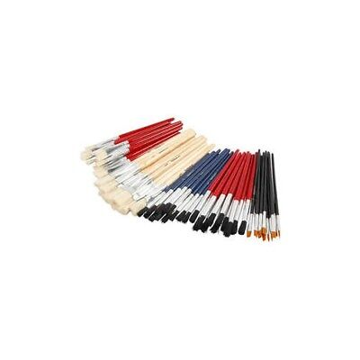 YellowLine Brush Set, size 4+8+10+12+3/4 , 60mixed [HOB-10252]