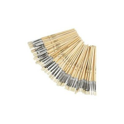 YellowLine Brush Set, size 6+8+10+12 , 48mixed [HOB-10251]