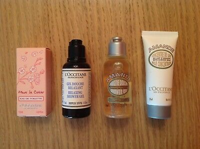 Lotto 4 Prodotti Occitane Travel Size