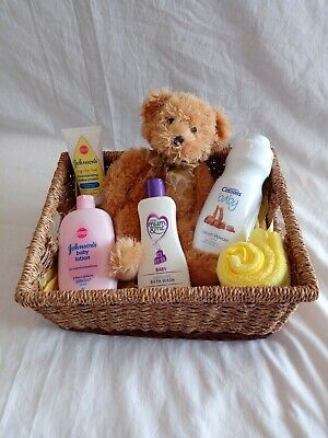 New Baby Hamper Gift Cussons Mum & Me Baby Shower Boy Girl Neutral Johnson's