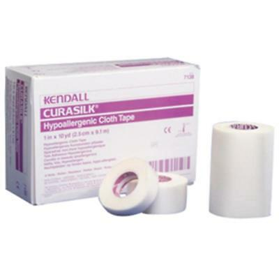 """NEW KENDALL 774Nzh1 1 EA Hypoallergenic Silk Tape 2"""" x 10 yds. 7139C"""