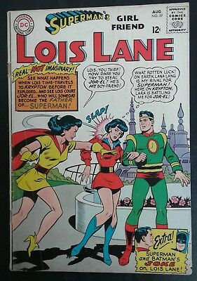 Superman's Girlfriend Lois Lane #59 DC Comics! Silver Age! GD/VG 3.0 20% OFF!