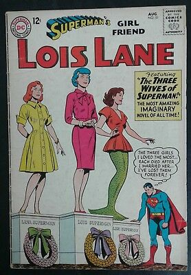 Superman's Girlfriend Lois Lane #51 DC Comics! Silver Age! GD/VG 3.0! 20% OFF!