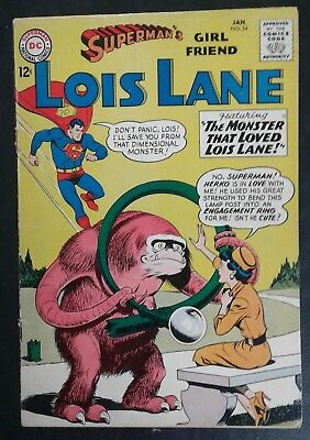Superman's Girlfriend Lois Lane #54 DC Comics! Silver Age! GD/VG 3.0 20% OFF!