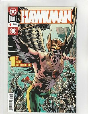 Hawkman (2018) #1 NM- 9.2 Cover A DC Comics