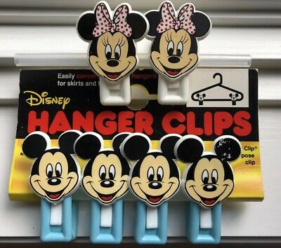 Mickey And Minnie Hanger Clips