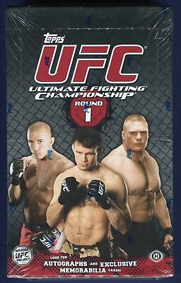 2009 Topps UFC Series 1 Factory Sealed Hobby Box
