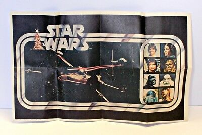 Vintage Star Wars Cheerios Cereal Cash Rebate Insert Flyer Kenner 1978 Premium