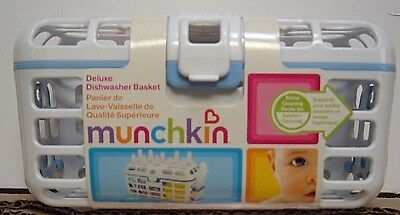 Munchkin Deluxe Dishwasher Basket..bpa Free..new..select Color Below