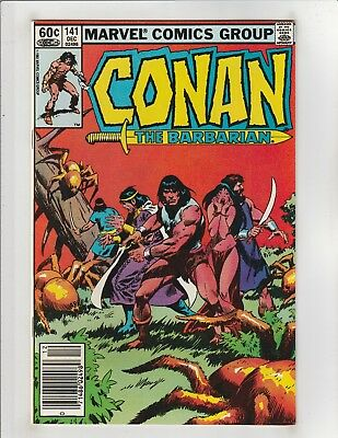 Conan the Barbarian (1970) #141 VF/NM 9.0 Marvel Comics Crom!