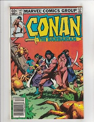 Conan the Barbarian (1970) #141 FN/VF 7.0 Marvel Comics Crom!