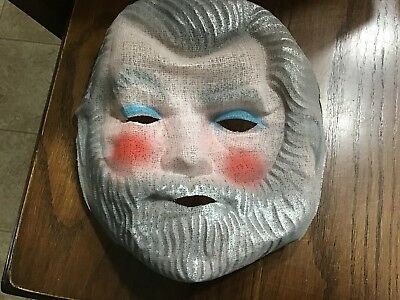 1950s Pair of Old Adult Size Halloween Gauze Masks