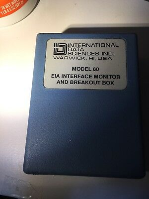 Model 60 EIA Interface Monitor And Breakout Box (0130790) - Free Shipping