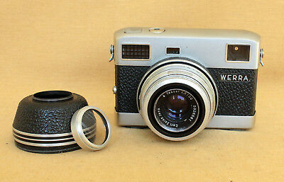 Werramatic German Carl Zeiss rangefinder camera CLA Tessar lens