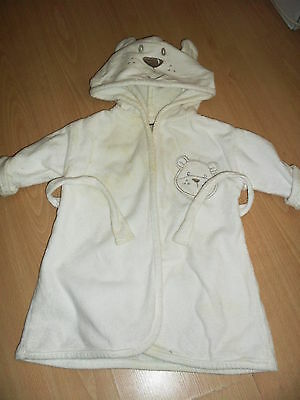 baby dressing gown george 3-6 months
