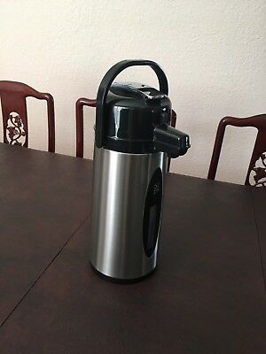 Daily Chef Commercial Airpot 2.2L (74.4 Oz) Stainless Steel