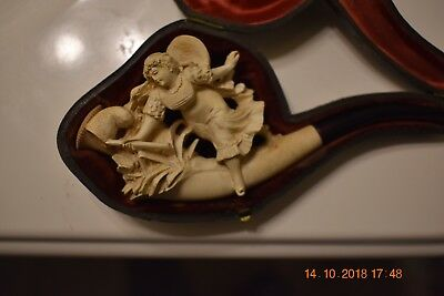 LOOK -  19th century meerschaum pipe - good condition