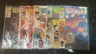 The New Defenders Lot 5 issues 1985