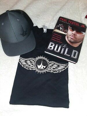 Paul Jr Designs Hat T Shirt And Hard Cover Book The Build