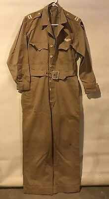 1941-1945 WWII USAAF Army Air Forces Captain's Summer Flight Suit Named