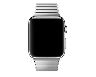 """Apple Watch Series 1 42mm Stainless Steel """"Rare Apple Band""""  MJYP2LL/A 1st Gen"""