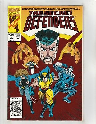 Secret Defenders (1993) #1 NM- 9.2 Marvel Comics Dr Strange,Wolverine,Darkhawk