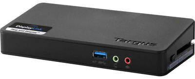 Targus ACP076EUZ ACP076 DisplayLink USB 3.0 Docking Station with power supply