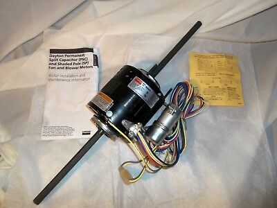 GRAINGER REPLACEMENT 5 In Dia Motors 1050 Rpm 3M663 By Packard