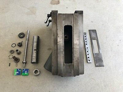 CLAUSING 8520 MILLING MACHINE KNEE ASSEMBLY w/ NEW BEARINGS 8525