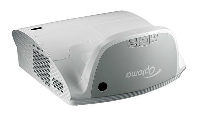 Optoma EW675UT Ultra Short Throw Projector, WXGA, 3100 Lumens, 3D Ready, Optoma