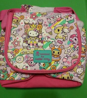 ed1d9d4e7 NWT Sanrio Tokidoki Hello Kitty Sweets Donutella Sweet dss lunch tote bag