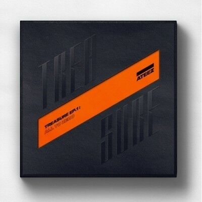 ATEEZ [Treasure EP.1:All To Zero]1st CD+Poster/On+Book+Sticker+Card Sealed