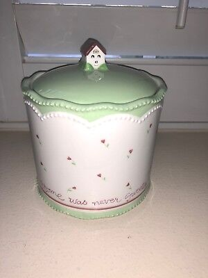 Cute Susan Branch Cookie Jar Canister By Michel & Co. 2002- Rare