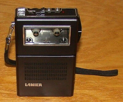 Lanier MS-105 Handheld Voice Recorder Tested and working