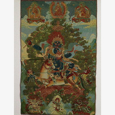 Tibet Collectable Silk Hand Painted immortals Thangka     A967