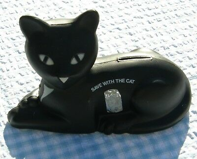 1980s BLACK CAT BankPromo Union Carbide Corp - Eveready 9 Lives Batteries