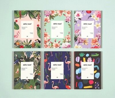 [2019 Aloha Diary] Undated Weekly Monthly Journal Planner Blank Note+Tracking No