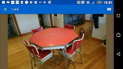 Retro 1950s 1960s dining table