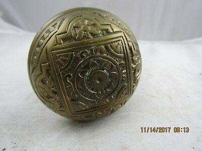 Antique Victorian East Lake Design Door Knob Set