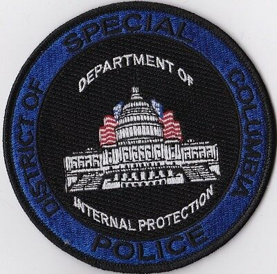 District of Columbia Special Polic DC District of Columbia Police Patch