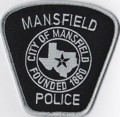 Mansfield Police Patch Texas TX
