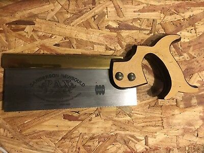 Sanderson and Newbould PAX Dovetail Saw - Barely Used