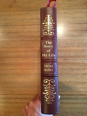 Easton Press The Story of My Life by Helen Keller, Collector's Edition