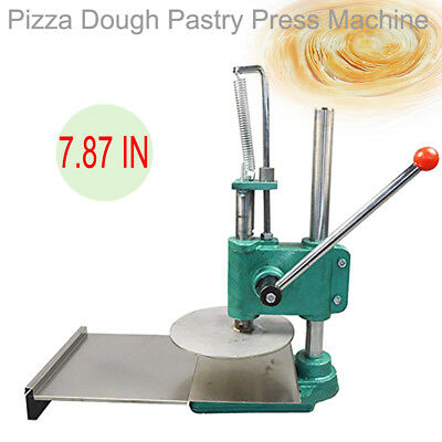 200mm Dough Roller Dough Sheeter Pasta Maker Household Pizza Pastry Machine CE